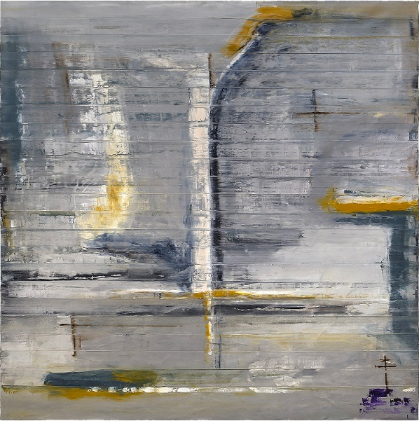 Todd Williamson, <em> Procession #2, 2019.</em><span>Oil on linen, 96 x72 inches</span>